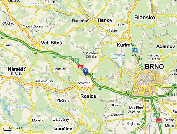 Kliknutím na mapu otevřete Mapy.cz